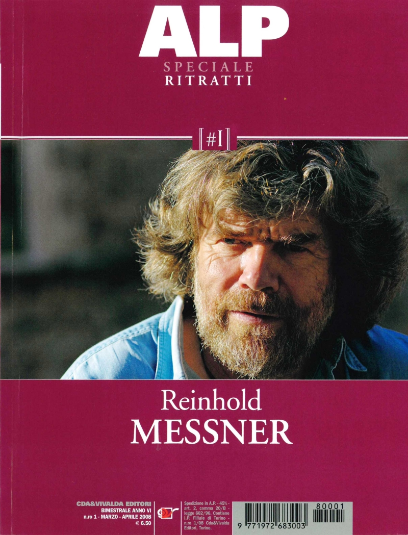 copertina Reinhold Messner