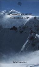 copertina Salvate le Alpi