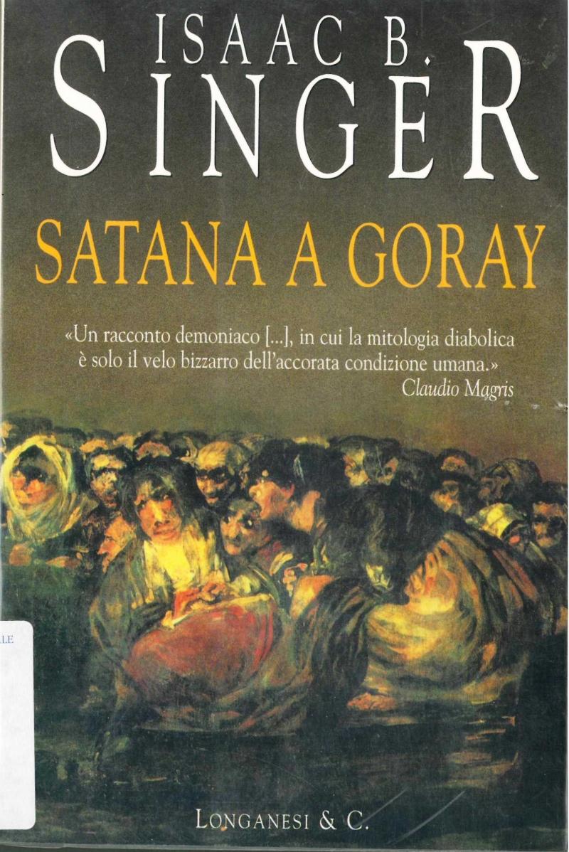 copertina Satana a Goray