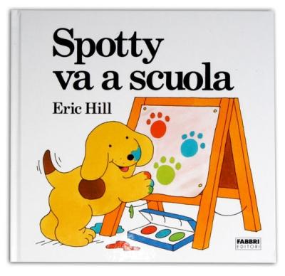 copertina Spotty va a scuola