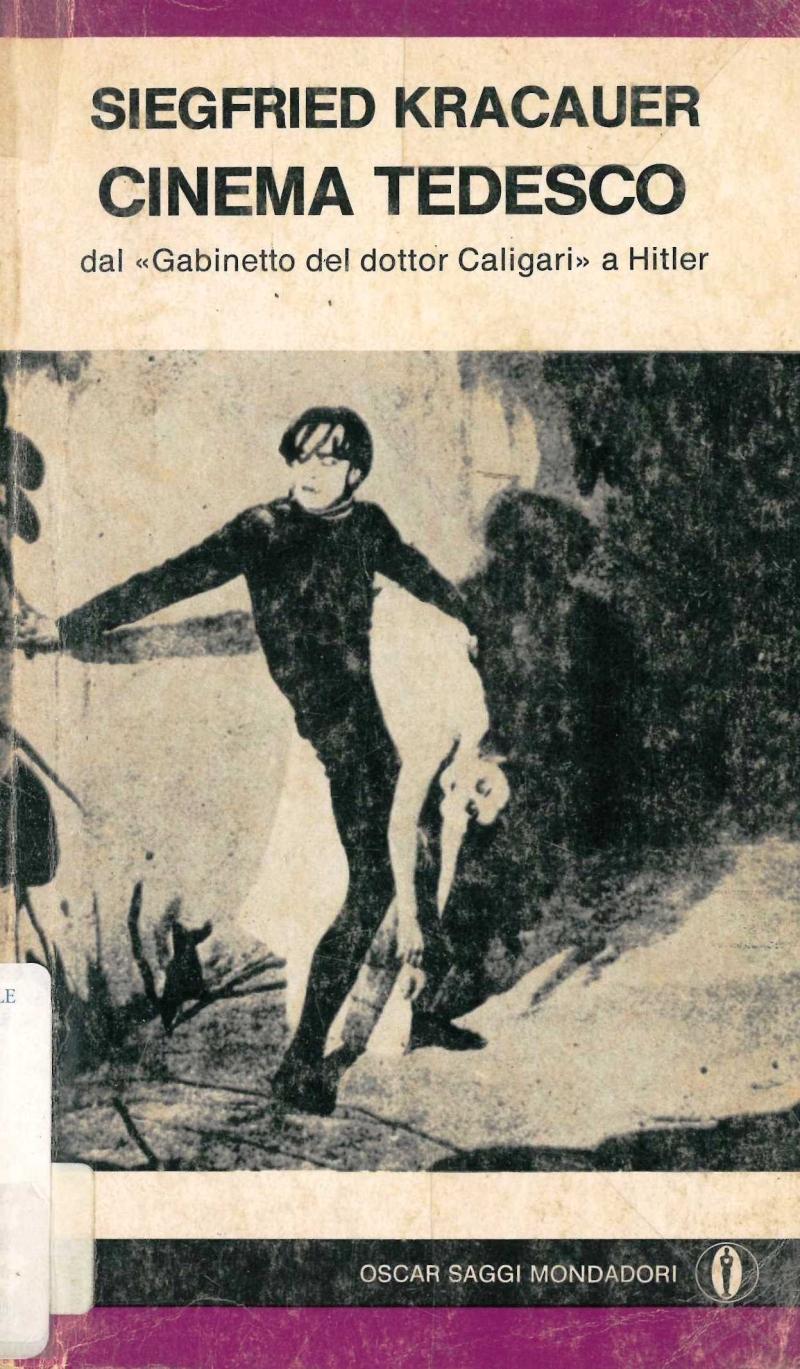 """copertina Cinema tedesco : dal """"Gabinetto del dottor Caligari"""" a Hitler"""