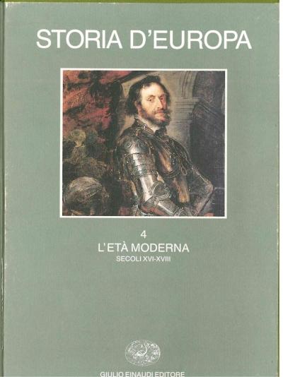 copertina Storia d'Europa
