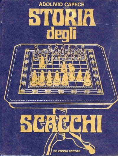 copertina Storia degli scacchi