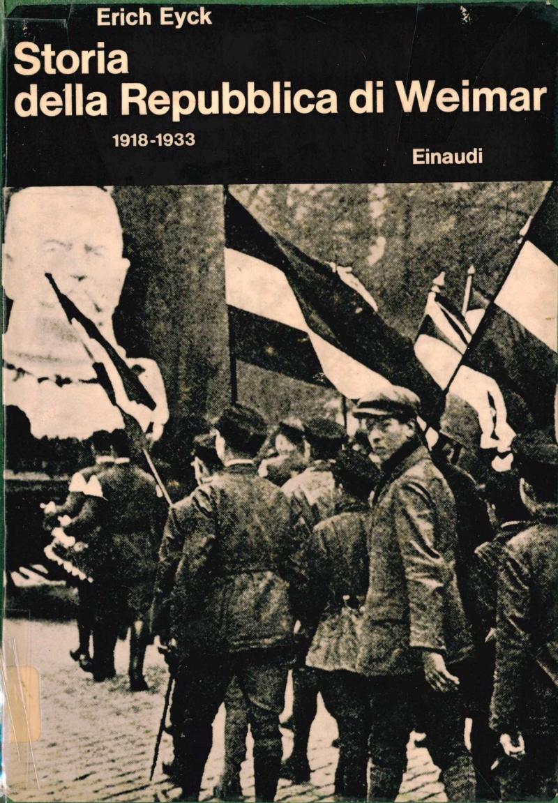 copertina Storia della repubblica di Weimar : (1918-1933)