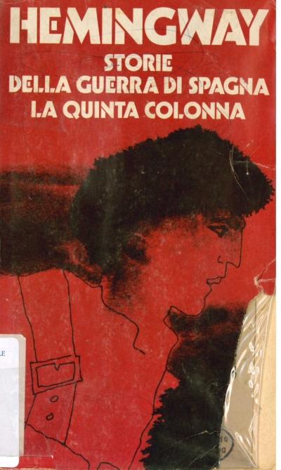 copertina Storie della guerra di Spagna ; La Quinta Colonna