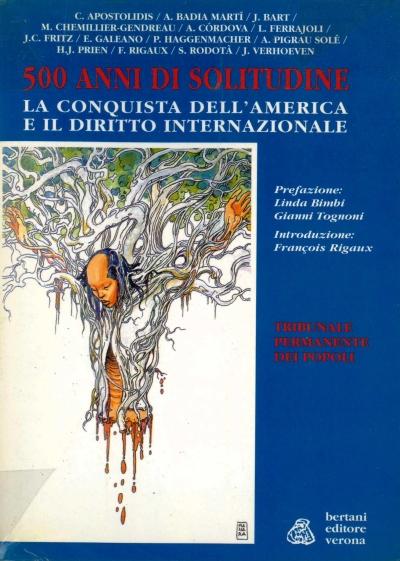 copertina 500 anni di solitudine : la conquista dell'America e il diritto internazionale