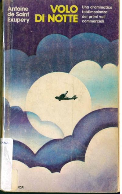 copertina Volo di notte ; Corriere del Sud