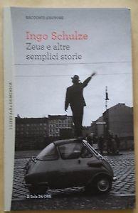 copertina Zeus e altre semplici storie