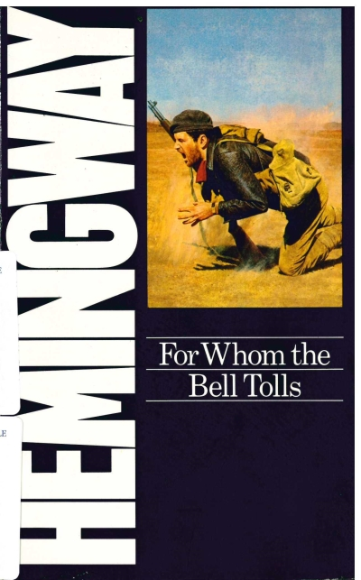copertina For whom the bell tolls