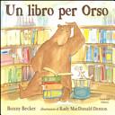 copertina Un libro per Orso