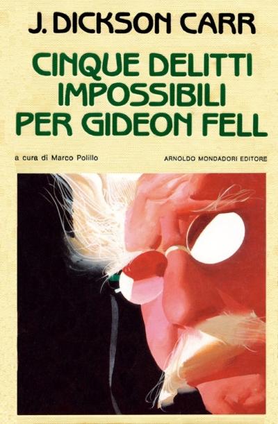 copertina Cinque delitti impossibili per Gideon Fell
