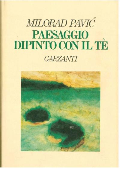 copertina Paesaggio dipinto con il tè