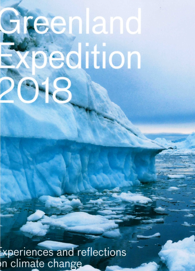 copertina Greenland expedition 2018