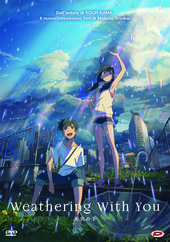 copertina Weathering with you [DVD]