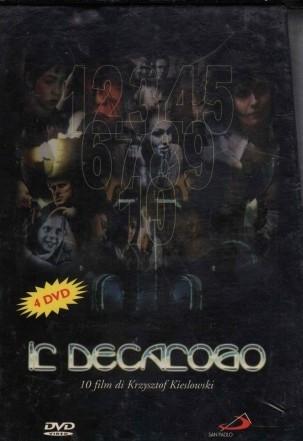 copertina Il decalogo [DVD] : dieci film