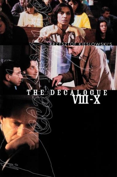 copertina Decalogo 8 : non dire falsa testimonianza [Film]