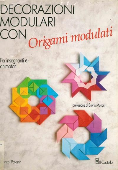 copertina Decorazioni modulari con origami modulati