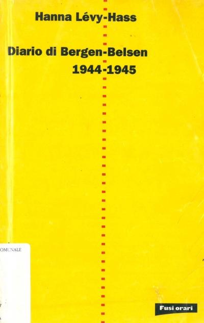 copertina Diario di Bergen-Belsen, 1944-1945