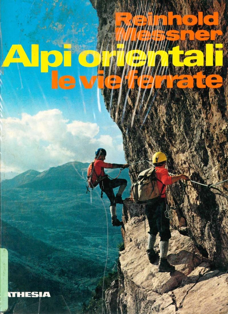 copertina Alpi orientali : le vie ferrate