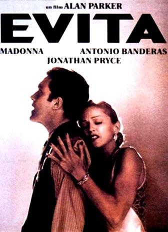 copertina Evita [DVD] : un film