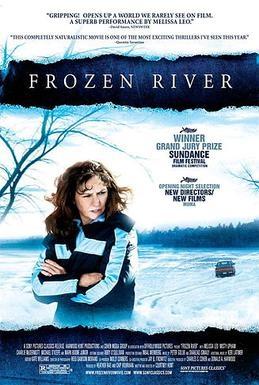 copertina Frozen river [DVD] = Fiume di ghiaccio : un film