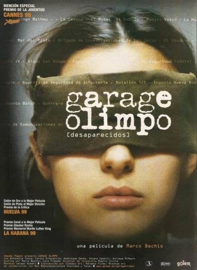 copertina Garage Olimpo [DVD] : un film