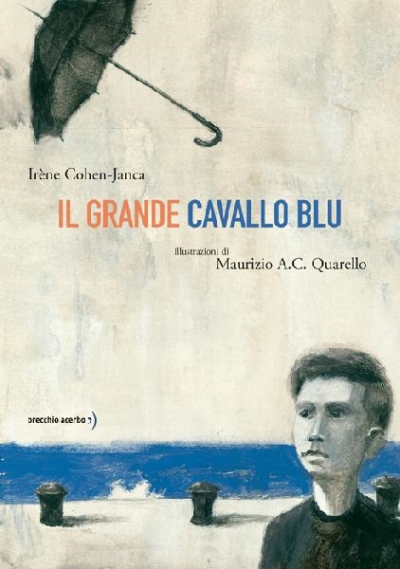 copertina Il grande cavallo blu
