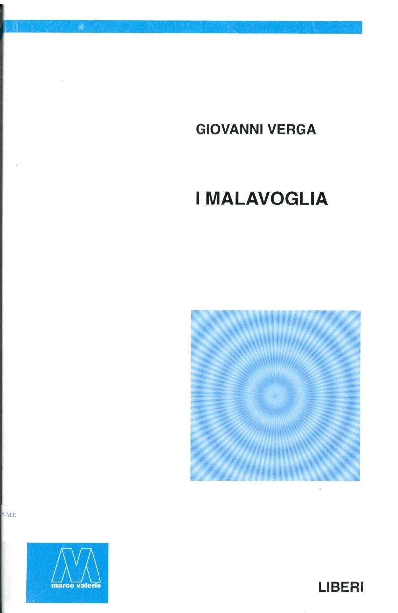 copertina I Malavoglia