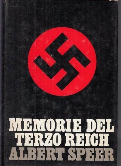 copertina Memorie del terzo reich