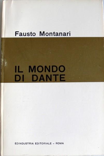 copertina Il mondo di Dante