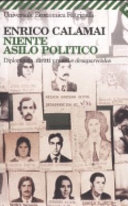 copertina Niente asilo politico : diplomazia, diritti umani e desaparecidos