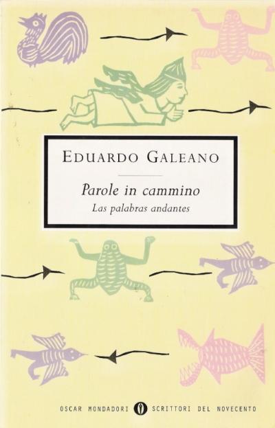 copertina Las palabras andantes = Parole in cammino