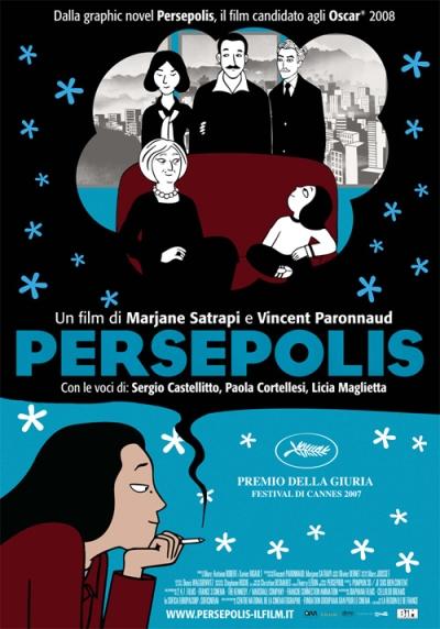 copertina Persepolis [DVD]