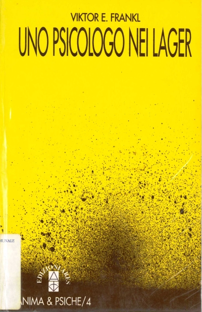 copertina Uno psicologo nei lager