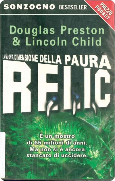 copertina Relic