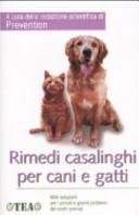 copertina Rimedi casalinghi per cani e gatti