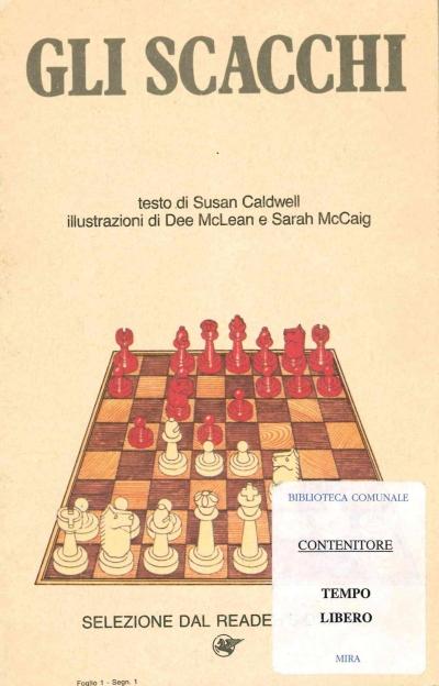 copertina Gli scacchi