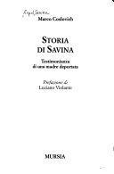 copertina Storia di Savina : testimonianza di una madre deportata