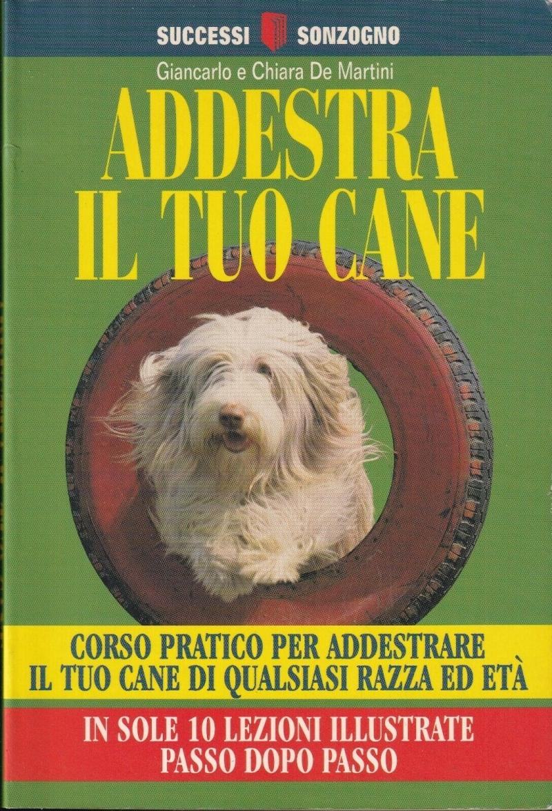 copertina Addestra il tuo cane