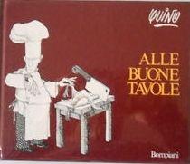copertina Alle buone tavole : introduzione alla gastronomia