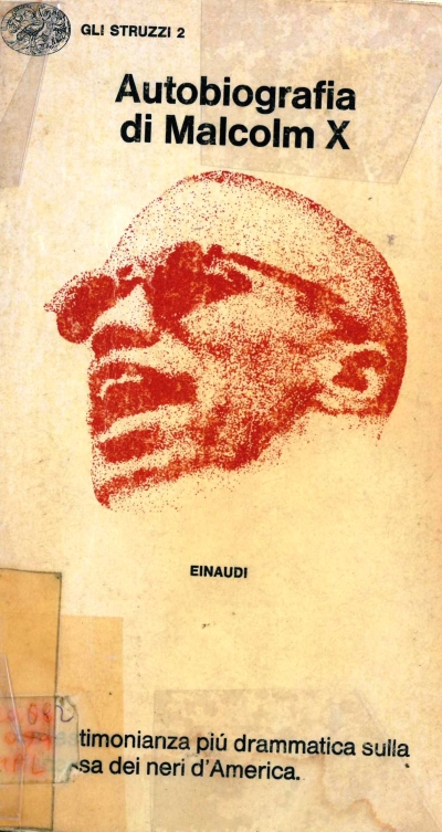copertina Autobiografia di Malcolm X