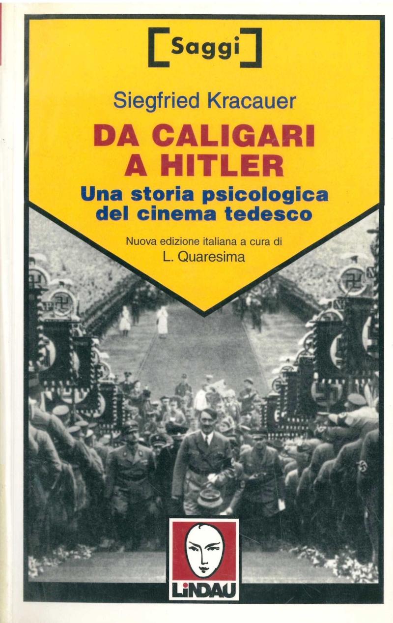 copertina Da Caligari a Hitler : una storia psicologica del cinema tedesco