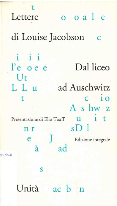 copertina Dal liceo ad Auschwitz : lettere