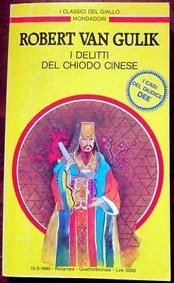 copertina I delitti del chiodo cinese