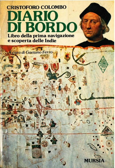 copertina Diario di bordo : libro della prima navigazione e scoperta delle Indie