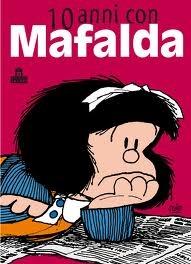 copertina 10 anni con Mafalda