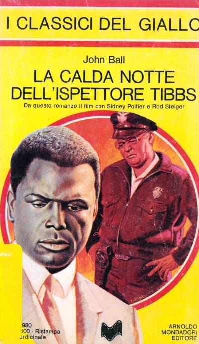 copertina La calda notte dell'ispettore Tibbs