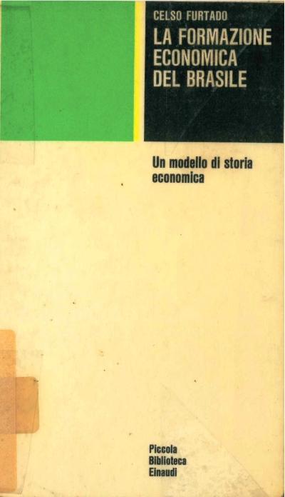 copertina La formazione economica del Brasile