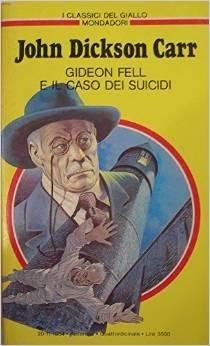 copertina Gideon Fell e il caso dei suicidi