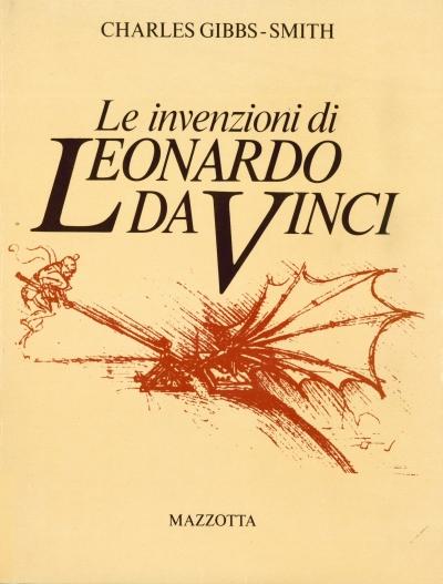 copertina Le invenzioni di Leonardo da Vinci